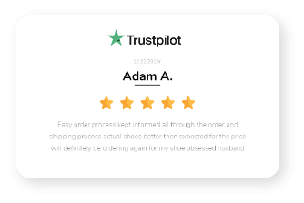review from trustpilot